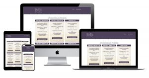 StirFry Seminars website in 4 screen sizes