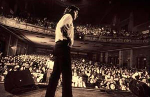 Bill Graham on Stage from BGMF website